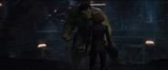 Romanoff frente a Hulk