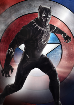 Pantera Negra Poster - Civil War.png