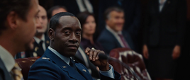 James Rhodes en el senado de EEUU - Iron Man 2