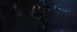 Thanos antes de ver los archivos de memoria de Nebula