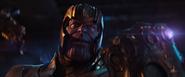 Thanos con la Gema del Poder