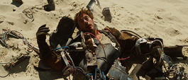 Stark escapa de los Diez Anillos