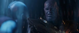 Thanos perdona a Nebula del pasado