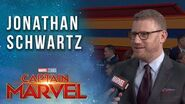 Jonathan Schwartz Talks The History of the MCU at the Captain Marvel Premiere