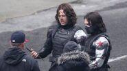 Winter Soldier behind the scenes 8