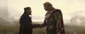 Hogun se despide de Thor