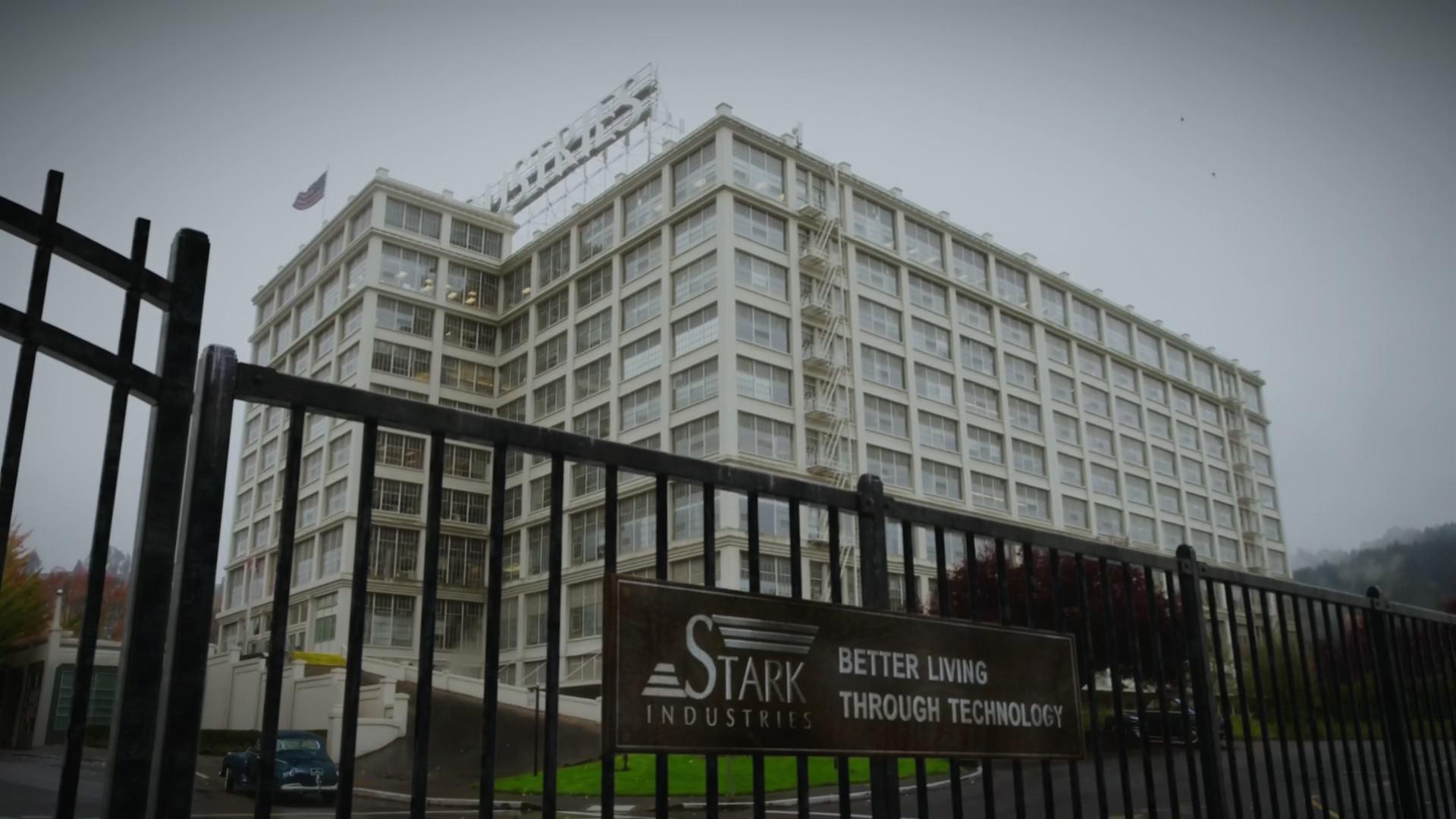 Instalaciones de Industrias Stark en Nueva York