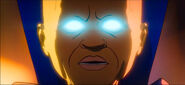 Uatu realizes that he was discovered by Ultron2