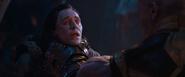 Loki asesinado por Thanos