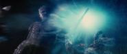 Laufey congela a un Einherjar