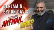 Benjamin Byron Davis at Marvel Studios' Ant-Man and The Wasp Premiere