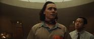 Loki and TVA worker