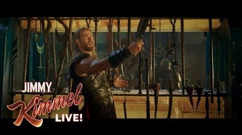 Chris Hemsworth Shares EXCLUSIVE Thor Ragnarok Clip