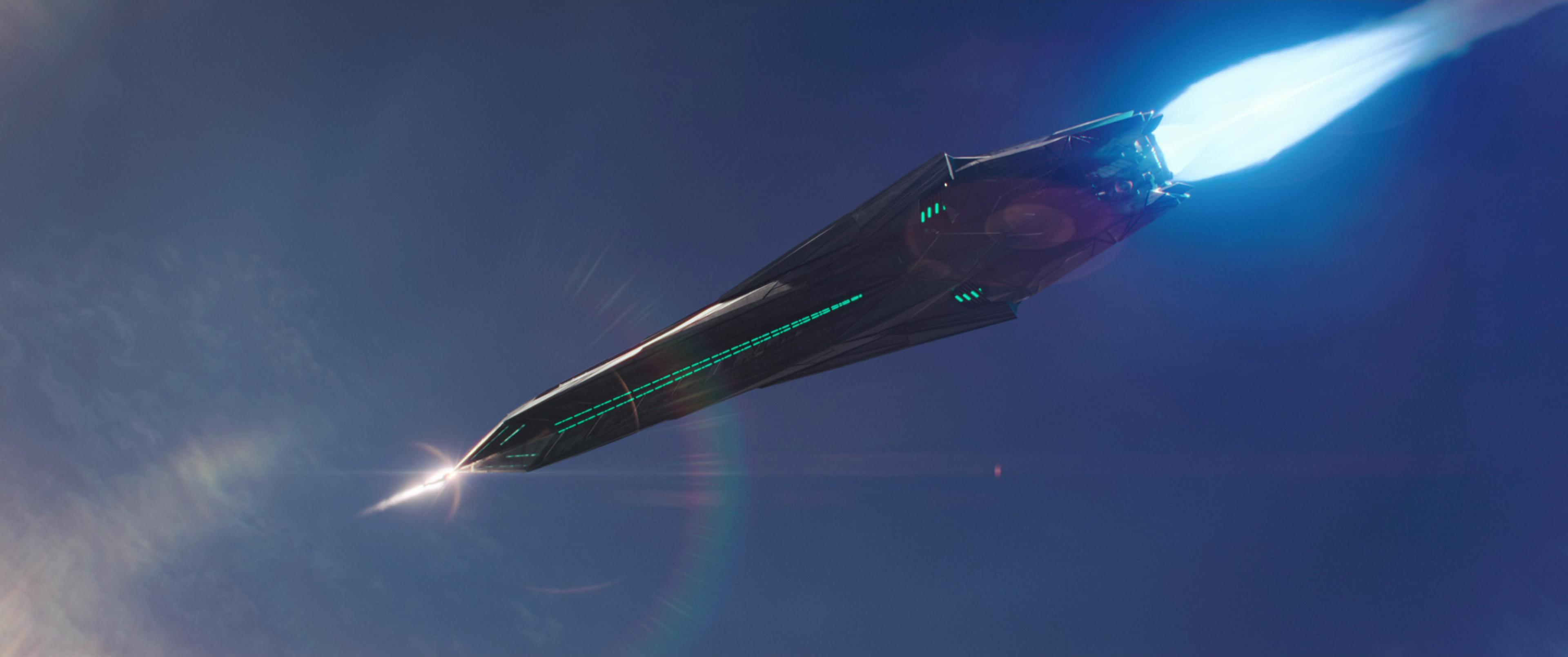 Kree Ballistic Missiles