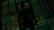 Murdock visto en una ventana