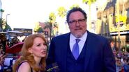 Jon Favreau Brings Happy Back at the Spider-Man Homecoming Red Carpet World Premiere