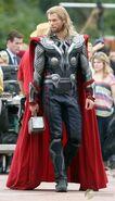 On set The Avengers 6