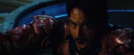 Tony asustado