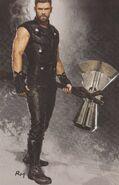 Avengers Infinity War Thor concept art 3