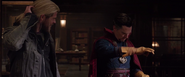 Thor & Doctor Strange (Ragnarok)