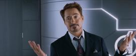 Stark al escuchar a Happy