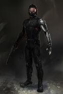 Captain America The Winter Soldier 2014 concept art 26
