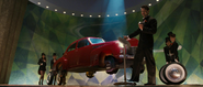 Howard Stark auto volador