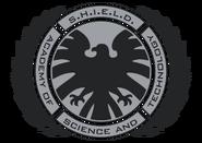 Logo de la Academia de Ciencias y tecnologia de SHIELD