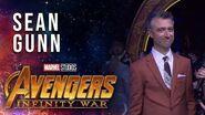 Sean Gunn Live at the Avengers Infinity War Premiere