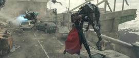 Thor confrontando Centinelas