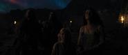 Vikingos viendo el cielo