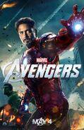 Avengers Poster Ironman and Hulk