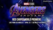 Marvel Studios' Avengers Endgame LIVE Red Carpet World Premiere