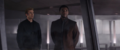 T'Challa y Rogers en Wakanda