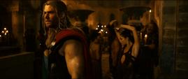 Thor visión de Wanda