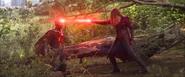 Wanda usa su poder contra Visión
