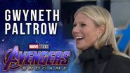 Gwyneth Paltrow on Pepper Potts through the years at the Avengers Endgame Premiere