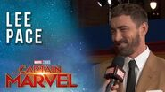 Lee Pace arrives at the Captain Marvel Red Carpet Premiere!