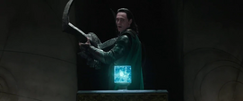 Loki encuentra el Teseracto