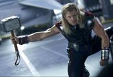 Thor apunto de luchar contra Hulk