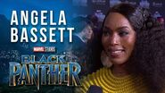 Angela Bassett at Marvel Studios' Black Panther World Premiere Red Carpet
