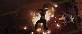 Potts cae al fuego