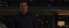 Reaccion de Rogers a la llegada de Ultron