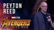 Peyton Reed Live at the Avengers Infinity War Premiere