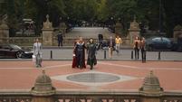 Thor y Loki en Central Park
