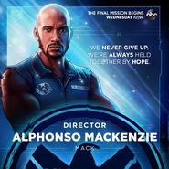 Agents of S.H.I.E.L.D. T7 - Alphonso Mackenzie