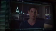 Hill conversa con Coulson desde la Torre Vengadores