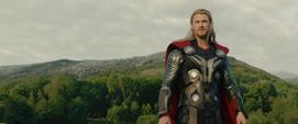 Thor apunto de regresar a Asgard