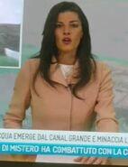 Italian TV Newsreader
