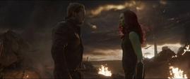 Quill encuentra a la versión alterna de Gamora